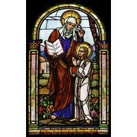 St. Anne Teaching Virgin Mary