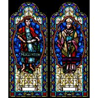Saints Augustine and Athanasius