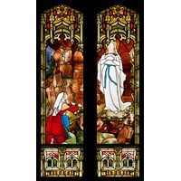 Our Lady of Lourdes and St. Bernadette Soubirous
