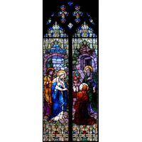 Visitation Two Panels