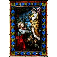 Jesus and the Angel at Gethsemane