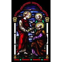 Jesus and Saint Peter