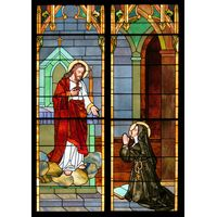 Christ and Saint Margaret Mary Alacoque