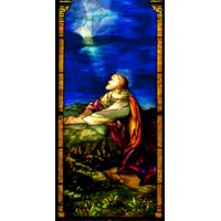 Jesus in Deep Prayer in Gethsemane