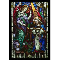 The Representation of Mary and Gabriel