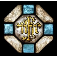 Stained Glass Monogram