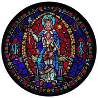 Queen of Heaven Rose Window