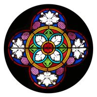 Grapes Rose Window