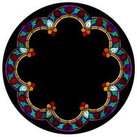 Scalloped Rose Window