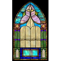 Tasteful Arched Window