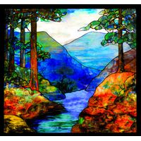 Mountain Stream Glass