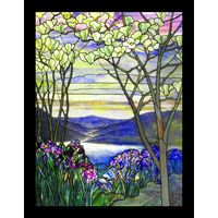Magnolias and Irises Thumbnail