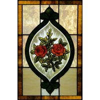 Red Roses Panel