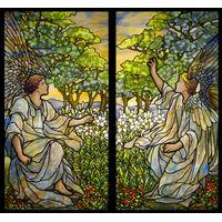 Two Angels Tiffany