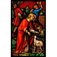 Christ Tending to Sheep