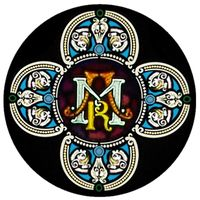 Symbolic Rose Window Design