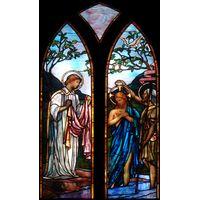 Jesus is Baptized Gothic