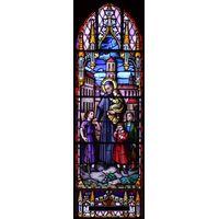 Saint with Children