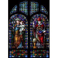 Baby Jesus and the Saints