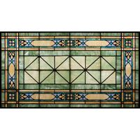 Green and Blue Transom