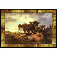 Herbstmorgen in Den Pontinischen Sumpfen