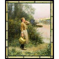 Girl with Water Jug