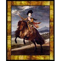 Equestrian Portrait of Balthasar Carlos