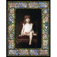 Portrait of Rudyard Kiplings Daughter