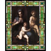 Madonna and Child with the Young St. John