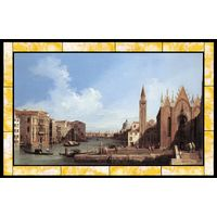 Grand Canal from Santa Maria Della Carita to the Bacino Di San Marco