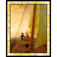 On Board a Sailing Ship