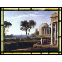 Landscape with Aeneas at Delos