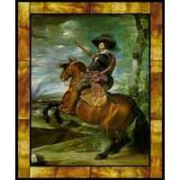 The Count-Duke of Olivares on Horseback