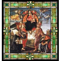 Madonna in Glory with  Saints