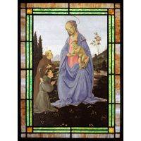 Madonna with  Child St. Anthony of Padua and a Friar
