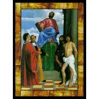 Saint Mark Enthroned