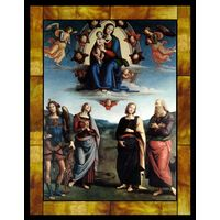 Madonna in Glory with the Child and Saints