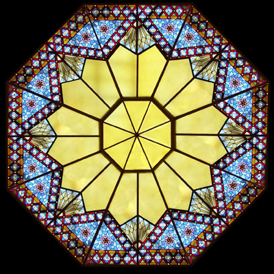Stained Glass For Skylight Covers
